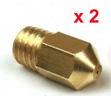 2 x Extruder Nozzle Print Head Buse D'Extrusion 0.4mm Imprimante 3D Printer