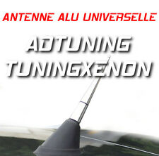 TUNING ANTENNE RADIO ALU CHROME 9cm VW GOLF 2 3 4 5 POLO PASSAT GTI TDI R32 VR6