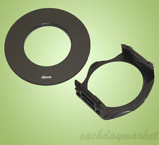 49mm 49 Adapter Ring + Filter Holder Mount for Cokin P Series