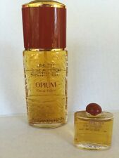 Opium YSL Yves Saint Laurent 1.6 oz Women EDT Old Formula Vintage NEW plus mini