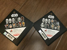 "Hot Toys Star Wars The Force Awakens Cosbaby 3"" sticker Set x 2"
