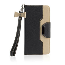 """Wallet Flip Buckle Mirror Strap Case Cover For iPhone 7/6S / 7 Plus 5.5"""""""