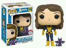 "EXCLUSIVO NYCC MARVEL X-MEN KITTY PRYDE 3.75"" POP VINYL FIGURA FUNKO VENDEDOR GB"