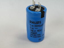Can Electrolytic Capacitor Philips 2200uF 40v Hi Quality 2222 050 17222 ER13