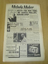 MELODY MAKER 1953 MAY 16 TED HEATH  ED MCKENZIE RAY ELLINGTON NAT KING COLE