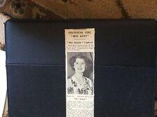 c3-2 ephemera 1950 picture june horton miss margate miss kent finals