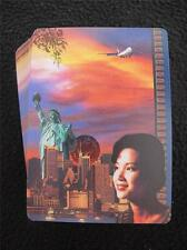 VINTAGE 1990's  PACK DECK of ADVERTISING PLAYING CARDS - SINGAPORE AIRLINES