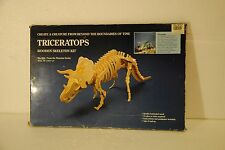 Museum Safari Ltd Triceratops dinosaur skeleton kit No. 302L