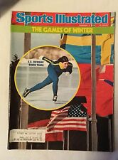 Sports Illustrated Magazine - February 2, 1976 Games Of Winter Olympics