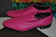 BNIB VERSACE H&M MENS PINK SHOES SZ UK 10 EUR 44 DESIGNER SMART RARE LIMITED