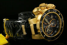 Invicta Reserve 52mm Subaqua SEA DRAGON Swiss Made Chrono 18K GP S.S Strap Watch