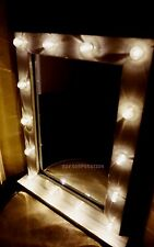 Hollywood Vanity Mirror  Bulb Mirror White EXCLUSIVE -14 LED BRIGHT/MAKEUP