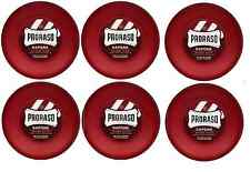Proraso Shave Soap, Sandalwood 150 ml - RED TUB (6 Pack)