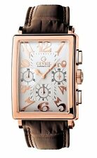 Gevril Men 5110 Avenue of America Swiss Automatic ETA 2892 Chrono 18k SOLID GOLD