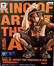 ONE PIECE KING OF ARTIST PORTGAS D. ACE SPECIAL Ver. 2 FIGURA FIGURE NEW NUEVA