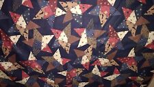 Debbie Mumm Fabric 2 Yards  SSI Quilting Stars Flags Blackbirds Patriotic