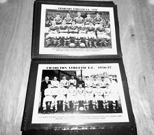 CHARLTON ATHLETIC F.C.Photo Album (1950's/40's/30's)
