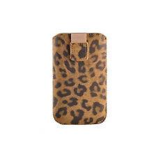 Tasche für Nokia 2330c 2700c 6300 6700c C3-01 X3-02 Sony Ericcson Elm Leo Braun