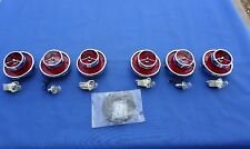 NEW 1963 Chevrolet Chevy Impala BelAir Rear Tail Lamp Lens & Ornament Kit Lot