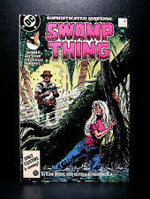 COMICS: DC: Saga of the Swamp Thing #54 (1980s) - RARE (batman/alan moore/flash)