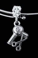 Hairdresser charm  Hairstylist and Barber  Low price jewelry gift  Silver  Salon