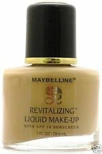 Lot of 8 Maybelline Revitalizing Liquid Makeup - Creamy Natural