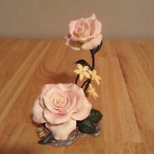 "Lenox Garden Flower Porcelain Figurine ""Peace Rose "" Hard to find"