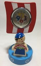 Bambini/Bambini/Ragazzi Camera Da Letto in legno pirata Clock Orologio da tavolo