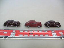 H768-0,5# 3x WIKING HO, 196, BMW 501