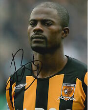 Hull City MANO FIRMATA George BOATENG foto 10 x 8.