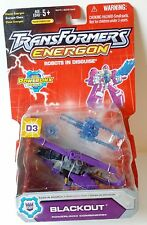 Vintage BLACKOUT D3 Transformers Energon Powerlinx RID 2004 Destructicon SEALED