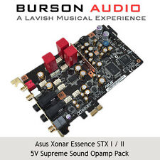 ASUS Xonar Essence STX I / II Sound Card Burson V5 Opamp Upgrade Pack