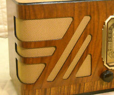 Vintage Gold Speaker Grill Cloth Art Deco – Old Antique Radio Grille Restoration