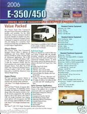 Truck Brochure - Ford - E-350 E-450 - Super Duty Commercial Chassis 2006 (T1251)