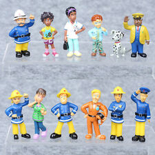 Fireman Sam Figures Elvis, Steele, Sam, Dilys, Helen, Norman, Tom Thomas,Penny