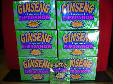 GINSENG ENERGY NOW/ 6-24 PKT BXS(144 PKTS=432 TABLETS) SAVE $$-WE SHIP FAST!!