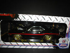 M2 Dodge Challenger 1970 Custom Black and Gold 1/18 Limited Edition 60 PCS