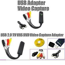 High Quality USB2.0 TV VHS DVD Video Capture Adapter 1CHANNEL USB 2.0