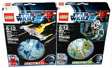 Lego 9674 Naboo Starfighter & Naboo 9679 AT-ST & Endor Retired