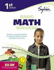 Math Workbooks: First Grade Basic Math Success (Sylvan Workbooks) by Sylvan...