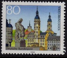 WEST GERMANY MNH STAMPS DEUTSCHE BUNDESPOST GERA 1000 YEARS 1995 SG 2613