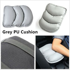 Comfortable Grey PU Leather Vehicle SUV Center Armrest Soft Pad Cover For Toyota