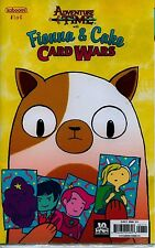 ADVENTURE TIME #1 of 6 Fionna & Cake Card Wars Sealed in Plastic Baggie