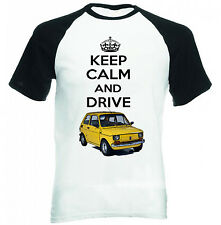 MALUCH POLISH FIAT 126 P KEEP CALM - NEW COTTON TSHIRT - ALL SIZES IN STOCK