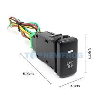 Car Accessory Fog Light LED Lamp On Off Locking Switch for Toyota Vans
