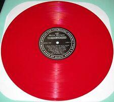 """THE WHITE STRIPES WHITE BLOOD CELLS 2001 Tour SFTRI LP RED 12"""" VINYL Jack Meg"""