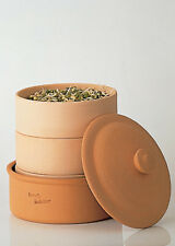 hawos Clay sprouting pot, Sprouter for Grain and Seeds