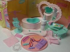 vtg G1 My Little Pony Perm Shoppe playset w/ accessories near complete MLP 80's