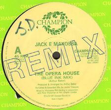 JACK E MAKOSSA - The Opera House - Champion