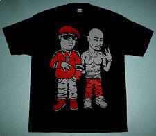 New 2pac Biggie Smalls vtg shirt the iconic supreme rap legends dope shakur XL